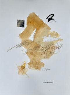 Sophisticated Swing by Charles Ross, Framed Abstract Painting on Paper