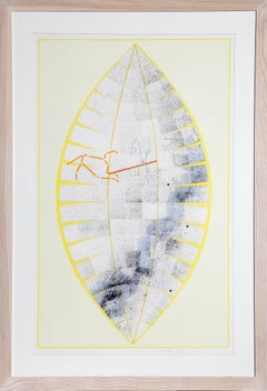 Leo from the Constellations Series, Silkscreen by Charles Ross