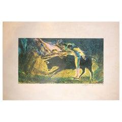 Matador Impressionist Print
