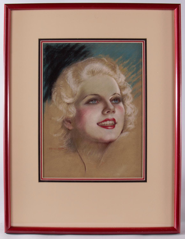 Portrait of Jean Harlow