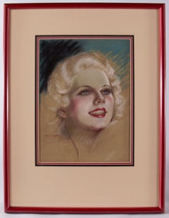 Portrait of Jean Harlow