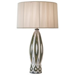 Charles Sucsan, a Tall Canadian Glazed Lamp