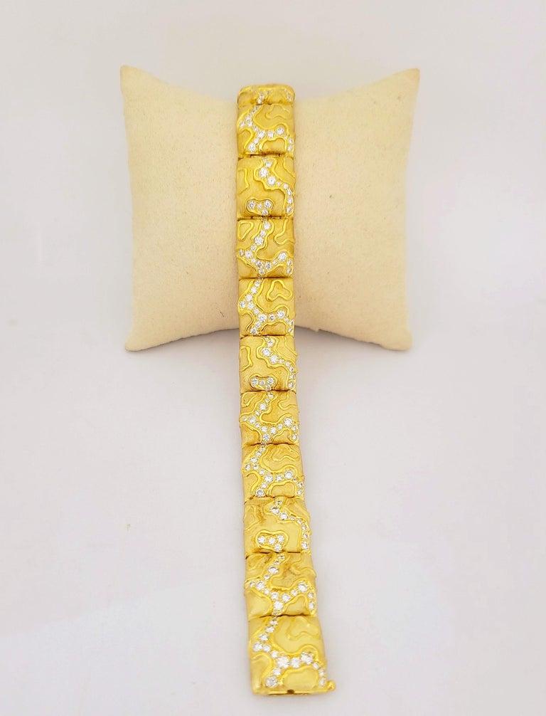 Retro Charles Turi 18 Karat Yellow Gold 4.02 Carat Diamond