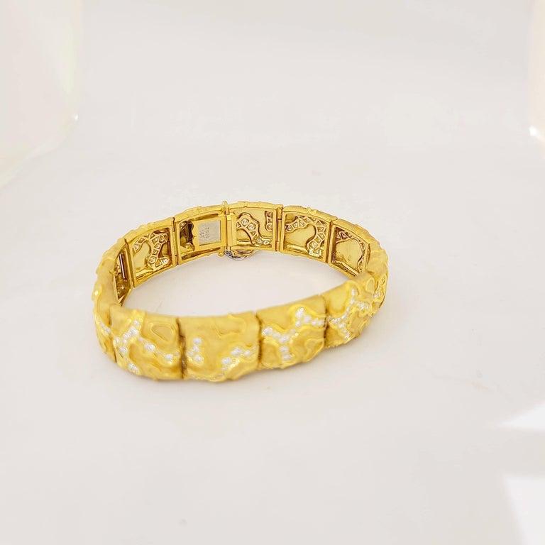 Charles Turi 18 Karat Yellow Gold 4.02 Carat Diamond