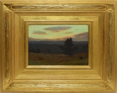 Declining Day, Sunset Landscape over Bloomfield NJ by Charles Warren Eaton