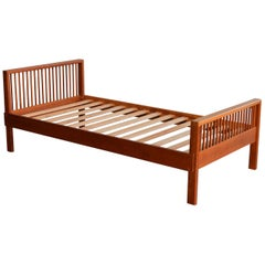 Charles Webb Cherry Single Twin Bed