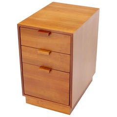 Charles Webb Solid Cherry File Cabinet