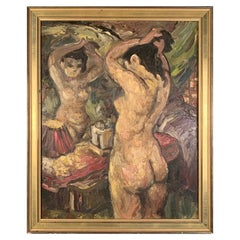 Charles Willette, Nude at a Mirror