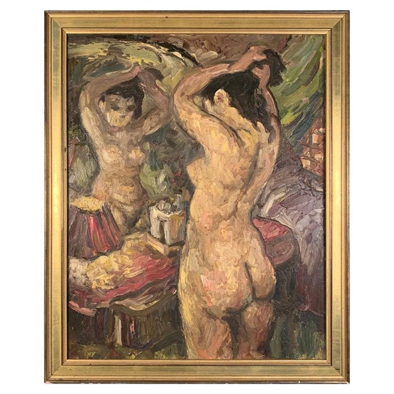 Charles Willette, Nude at a Mirror For Sale