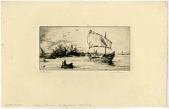The port Basrah.