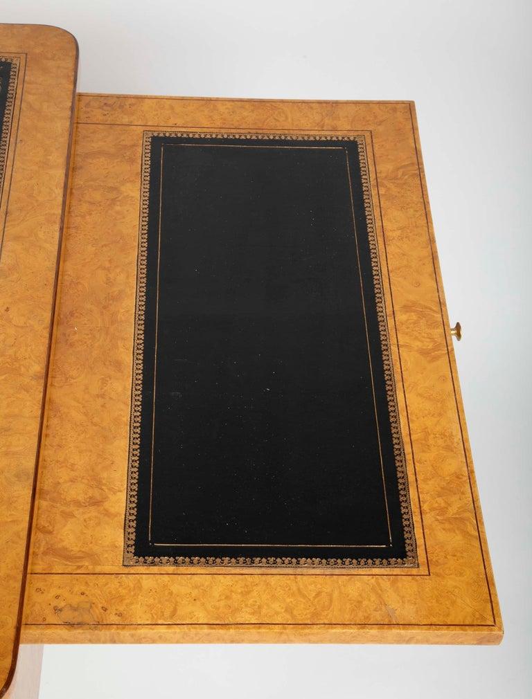 Charles X Bureau Plat For Sale 8