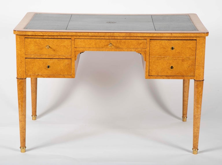 French Charles X Bureau Plat For Sale