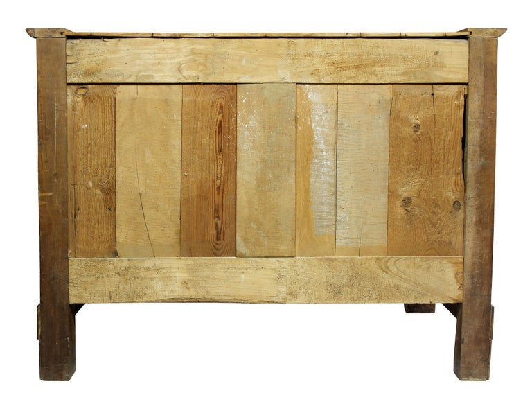 Charles X Burl Elm Commode For Sale 7