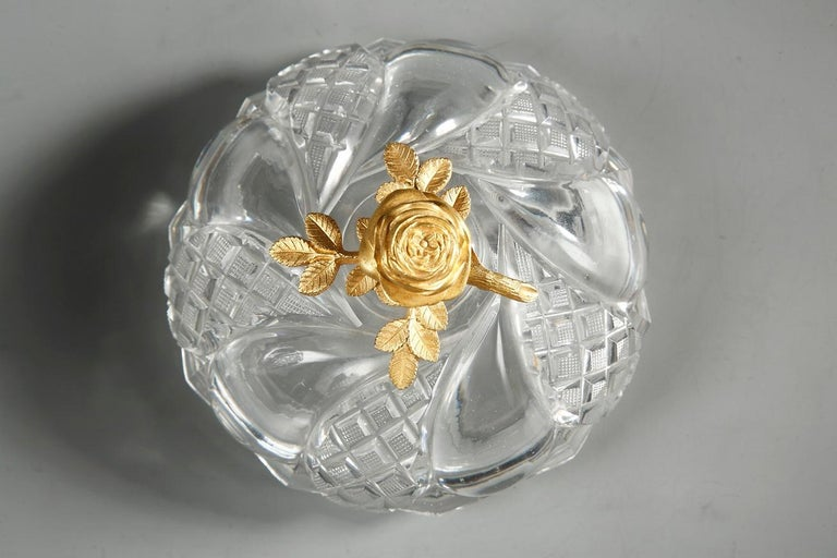 Charles X Cut-Crystal and Gilt Bronze Cup 5