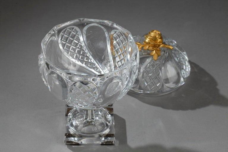 Charles X Cut-Crystal and Gilt Bronze Cup 1