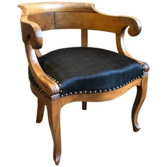 Charles X Desk Chair, 1820s