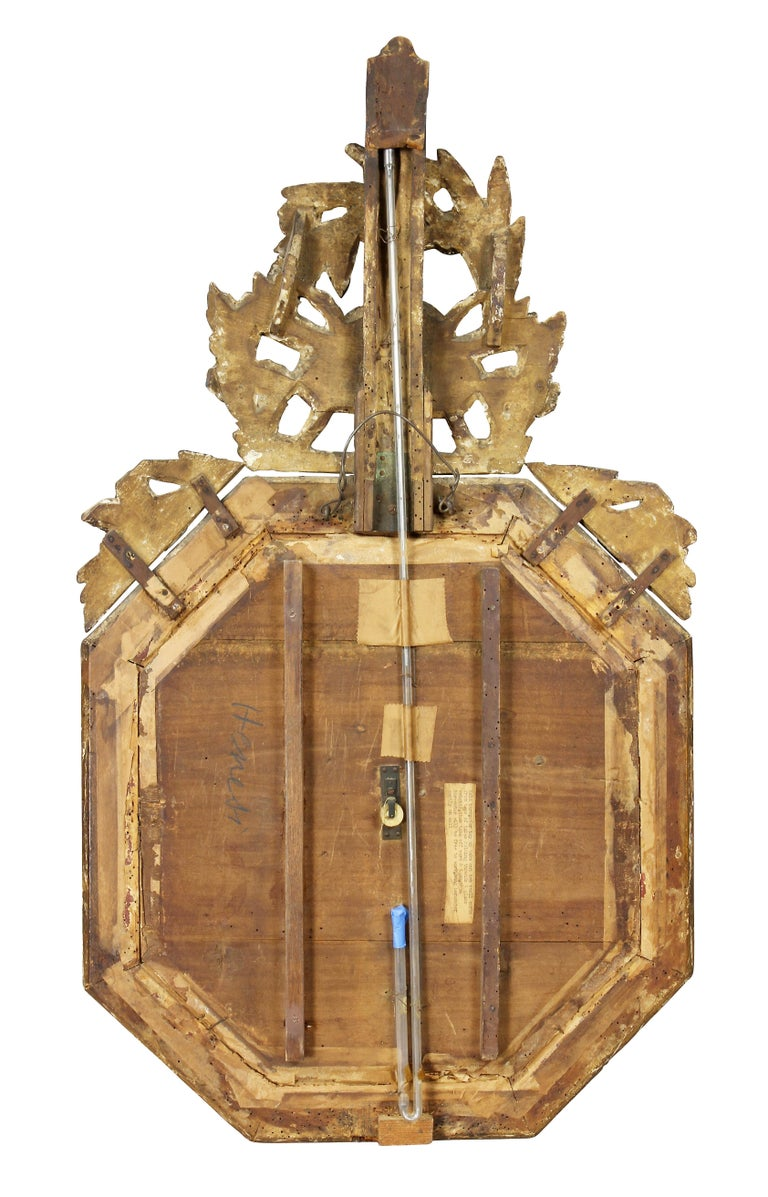 Charles X-Giltwood Barometer For Sale 1