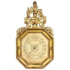Charles X-Giltwood Barometer