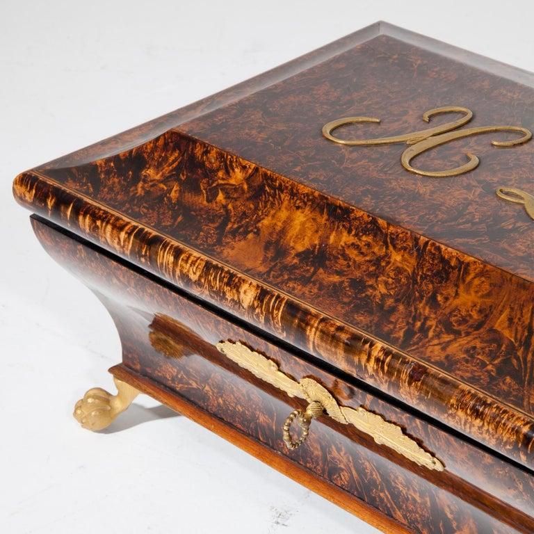 Charles X Jewelry Box, France, circa 1820 5