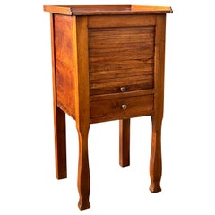Charles X Provincial Walnut Side Table
