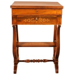 Charles X Rosewood Dressing Table, circa 1820