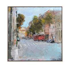 Charleston Desire I, American Contemporary Cityscape Painting by Andy Braitman