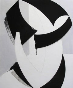 """Charley Brown Abstract Painting """"Intersections #2"""""""