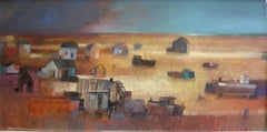 Dungeness, LandscapePainting, Abstract Art