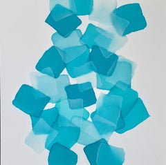 Found, abstract painting by Charlie Bluett