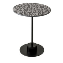 Charlie Grey and Black Side Table