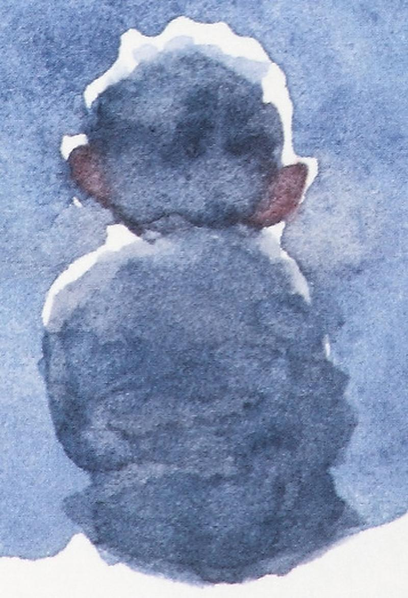 Starry Night - Limited Edition, Figurative, Contemporary, Star, Night, Child