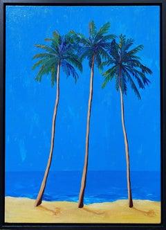 Shining Palms painting ORIGINAL