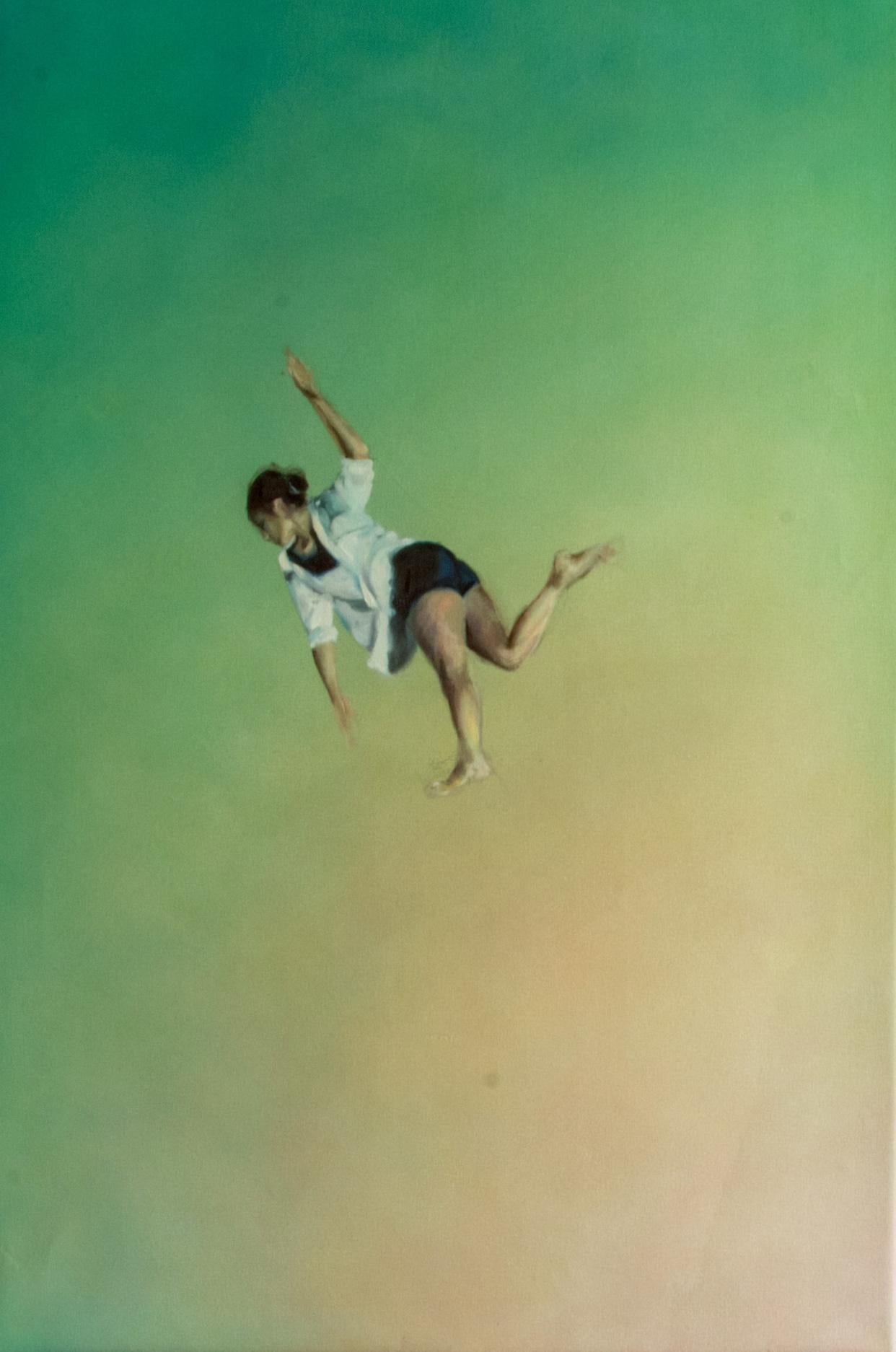 Falling Into The Reverie  - Charlotte Aiken, Abstract, Space, Sublimity, Figure