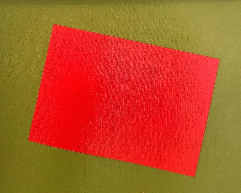 Primary Colors on a Field of Green For Sale 1