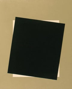 """""""Your Photo Here"""" Minimal Gold Black Abstract Geometric Contemporary American"""