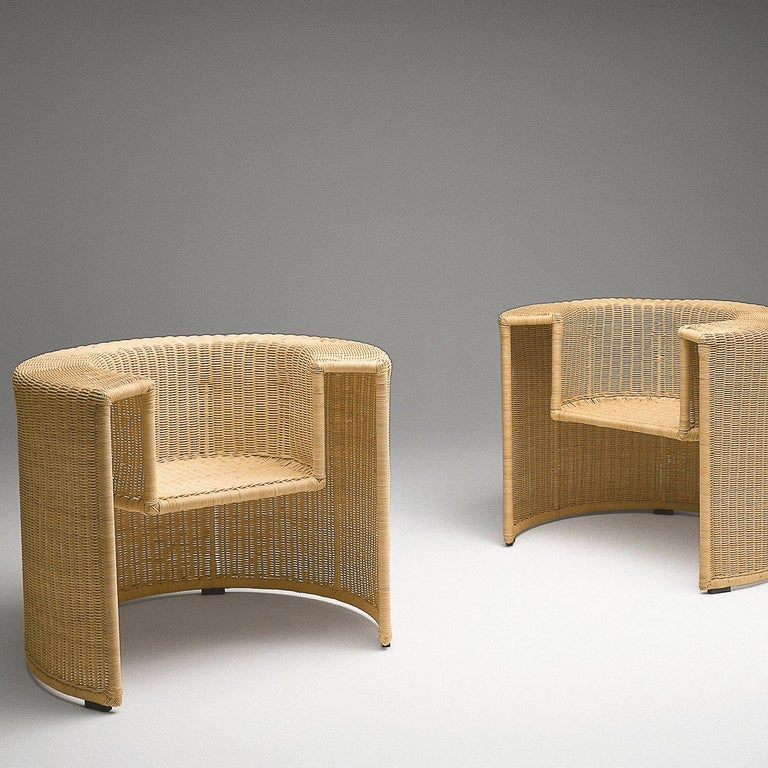 Charlotte Armchair by Mario Botta In New Condition For Sale In Milan, IT