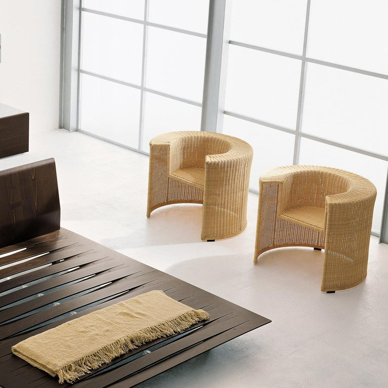 Contemporary Charlotte Armchair by Mario Botta For Sale