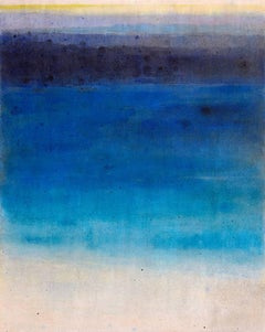 Nourish Her Blue / acrylic on canvas