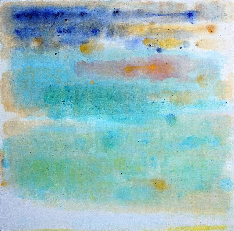 Charlotte Bernstrom Abstract Painting - Saturated Mid-Summer Breeze