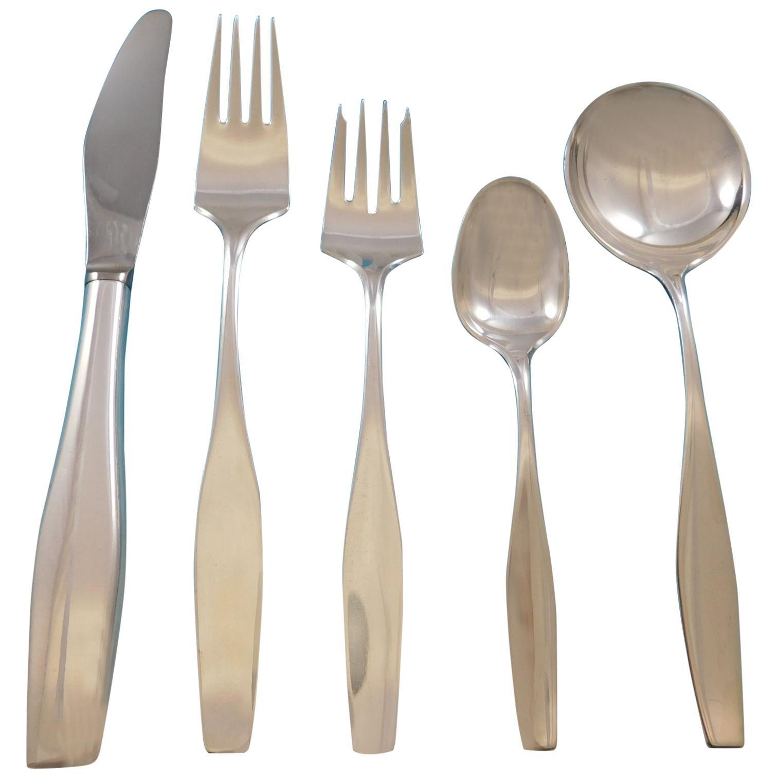 "Bell by Hans Hansen Danish Denmark Sterling Silver Salad Fork 6 1//2/"" Flatware"