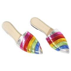 Charlotte Olympia Rainbow Slides