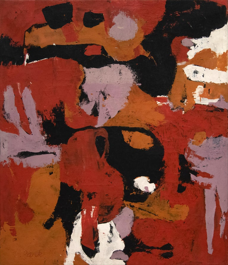 Charlotte Park Abstract Painting - Untitled