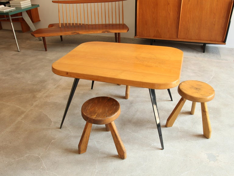 Charlotte perriand 6 couverts dining table circa 1956 for sale at 1stdibs - Dresser table couverts ...