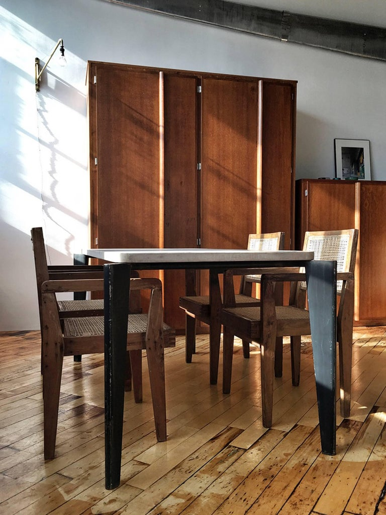 Mid-Century Modern Charlotte Perriand and Le Corbusier Tall Wardrobe For Sale