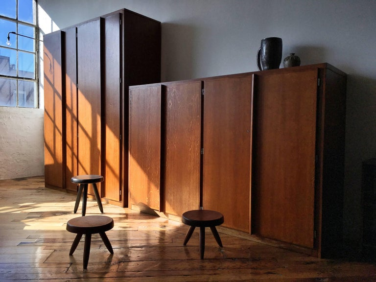 Brazilian Charlotte Perriand and Le Corbusier Tall Wardrobe For Sale