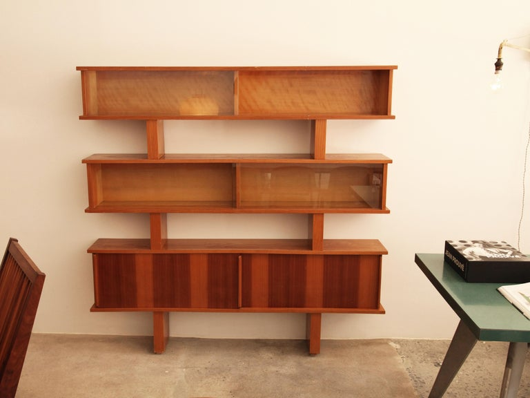 Charlotte Perriand And Pierre Jeanneret Bibliotheque Circa 1954 For