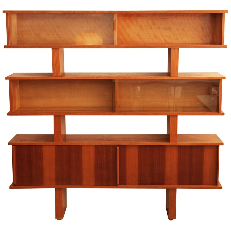 Charlotte Perriand and Pierre Jeanneret Bibliotheque, circa 1954 For Sale