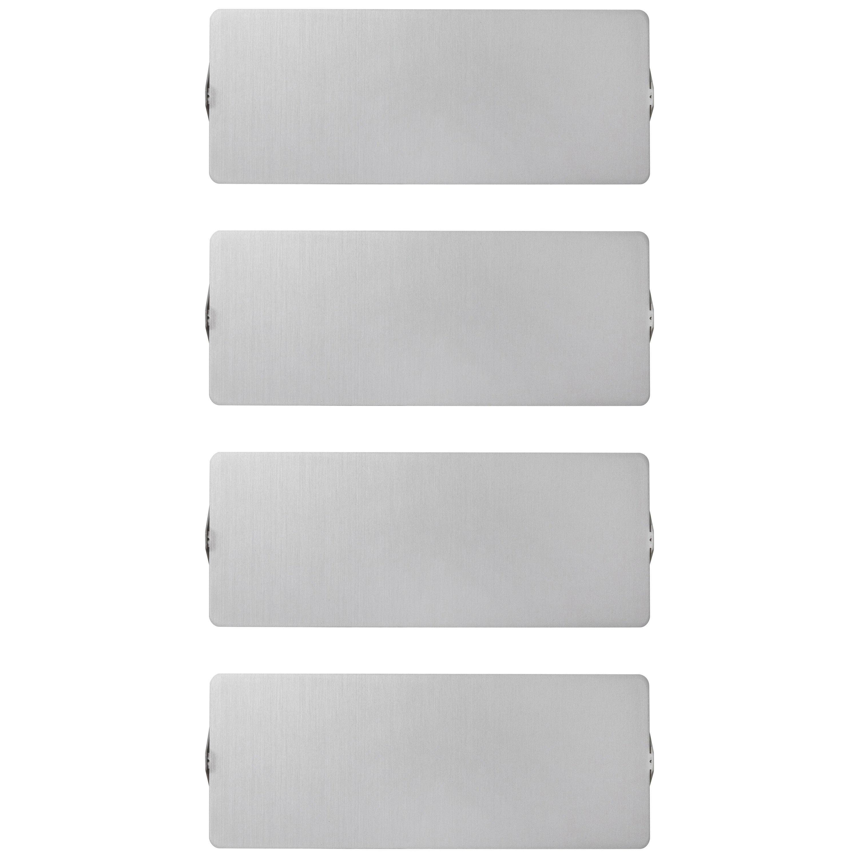 Charlotte Perriand 'Applique À Volet Pivotant Double' Wall Lights in Aluminum
