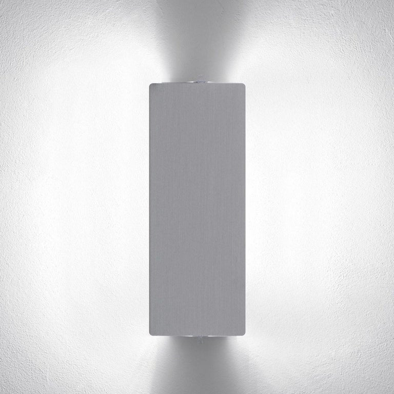 Charlotte Perriand 'Applique à Volet Pivotant' Wall Light in Natural Aluminum For Sale 3