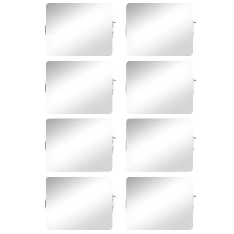 Charlotte Perriand 'Applique Á Volet Pivotant' Wall Lights in Black and White For Sale 10